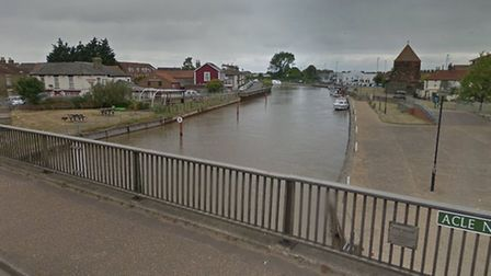 Emergency services rescued a man who got into difficulty in the River Bure, Great Yarmouth earlier t