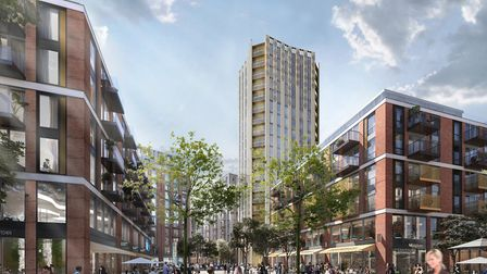 The Anglia Square plans include a 20-storey tower. Photo: Weston Homes