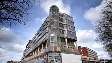 Soverign House would be demolished under the proposals. Picture: ANTONY KELLY