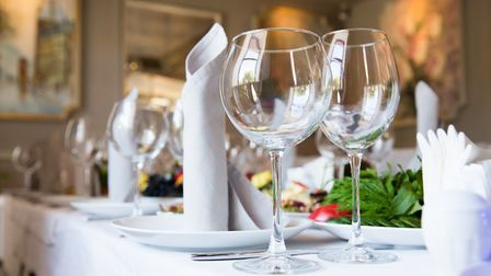 Dining out is an idea for Christmas. Picture Getty Images
