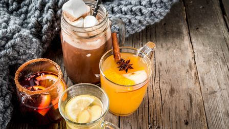 What's your festive tipple: hot chocolate with marshmallow, tea with lemon and ginger, white pumpki