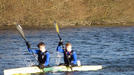 Connor Smith and Joe Richards shone at the Under-19 National Schools Championships at the weekend. P