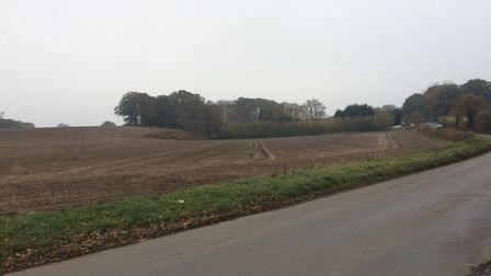 A man's body was found in a field on the outskirts of North Walsham. Picture: David Bale