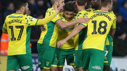 Max Aarons takes the plaudits for his key role in Norwich City's third goal of a 4-1 romp at Swansea