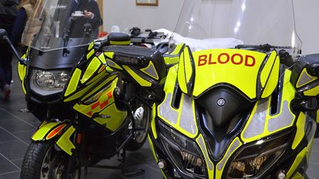 'Red Army' and 'Red Army Too' at the Norfolk and Norwich University HospitaL. Picture SERV Norfolk B