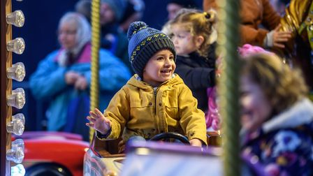 Scenes from the 2018 King's Lynn Christmas Light Switch on, with the launch of REVEAL - Fun on the f