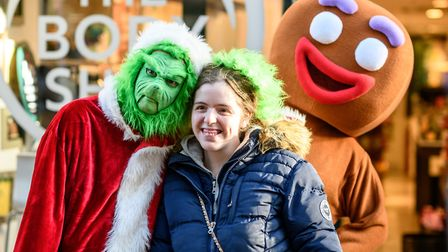 Scenes from the 2018 King's Lynn Christmas Light Switch on, with the launch of REVEAL - The Grinch a