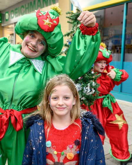 Scenes from the 2018 King's Lynn Christmas Light Switch on, with the launch of REVEAL - SWANK brings