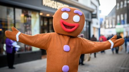 Scenes from the 2018 King's Lynn Christmas Light Switch on, with the launch of REVEAL - The Gingerbr