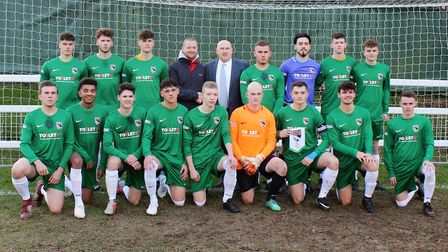 Norfolk Under-18s are through to the FA County Cup quarter-finals after a 3-1 win over Isle of Man.