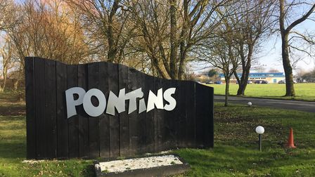 Pontins holiday park in Pakefield. Picture: Archant.