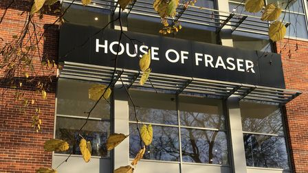 House of Fraser is set to close its Norwich store at Intu Chapelfield next spring. Picture: Neil Did