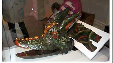 Snap the Dragon statue, which is housed at the Museum of Norwich at the Bridewell, Norwich. Photo: T
