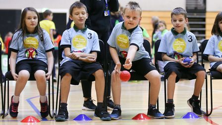Pupils with disabilities and special needs from Albert Pye Primary School in Beccles won gold medals