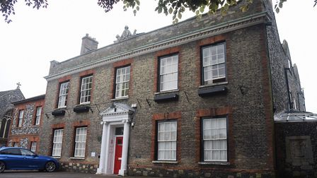 King's House in King Street, Thetford, where Thetford Town Council hold their meetings. Picture: DEN