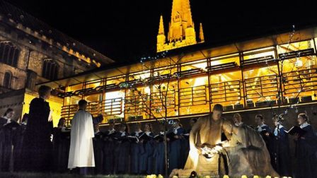 The new Norfolk Christmas Fayre will follow the traditional open evening and outdoor crib blessing a