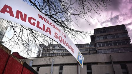 City councillors will meet on December 6 to discuss the future of Anglia Square. Picture: ANTONY KEL