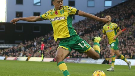 Jamal Lewis starts for the Canaries at Swansea Picture: Paul Chesterton/Focus Images