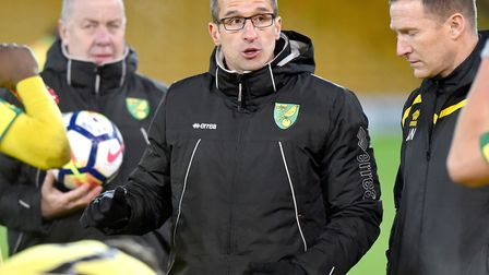 David Wright is the new Norwich City U23s head coach Picture: Nick Butcher