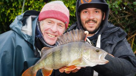 Perch are the perfect Christmas present for John Bailey and Robbie Northman Picture: John Bailey