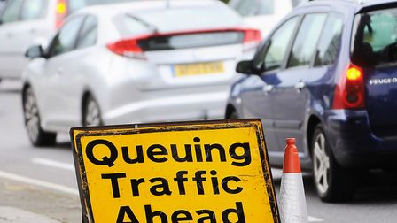 Drivers face long delays on A47 following crash,