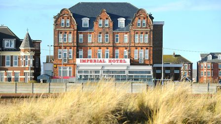 Imperial Hotel, Great Yarmouth.January 2014.Picture: James Bass