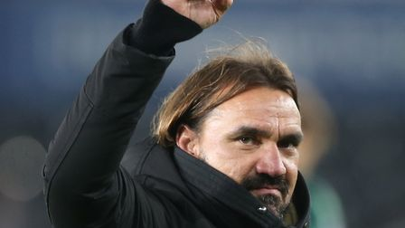 Daniel Farke wants his players to embrace the expectancy that comes with leading the pack Picture: