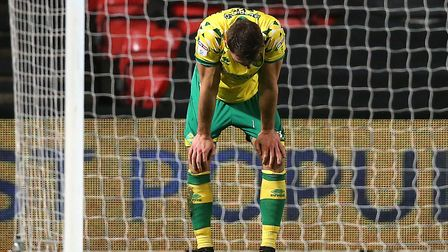 Christoph Zimmermann played through the pain barrier at Bristol City Picture: Paul Chesterton/Focus
