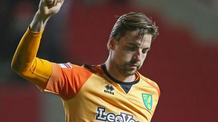 Tim Krul made two vital saves for the Canaries in the first half at Bristol City Picture: Paul Chest