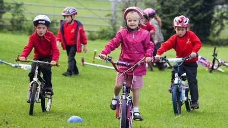 Around one in three children in Norfolk are doing fewer than 30 minutes of exercise a day. Picture: