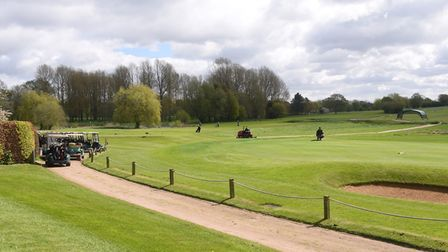 The Valley golf course at the Barnham Broom Hotel, Golf and Spa. Picture: DENISE BRADLEY