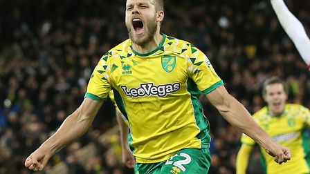 Teemu Pukki's goals have helped fire Norwich City to the top of the Championship Picture: Paul Chest