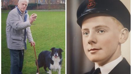 William Atherton served in the Royal Navy. Aged 92, he was discharged from the Queen Elizabeth Hospi