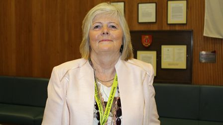 Penny Carpenter of Great Yarmouth Borough Council Pic: Norfolk County Council.