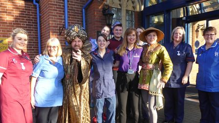 The classic tale of Aladdin will come life at to All Hallows Hospital in Bungay for a special Christ