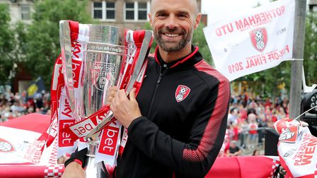 Paul Warne, originally from Norfolk, led Rotherham to promotion via the League One play-offs last se