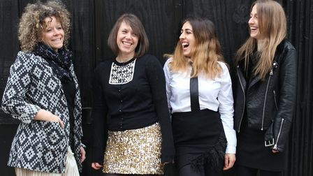 The Sisterhood Music Collective, who will perform at the Seagull Theatre in Pakefield on Friday, Nov