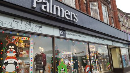 Tina Slade pleaded guilty to shoplifting from a trio of stores, including Palmers. Liz Coates
