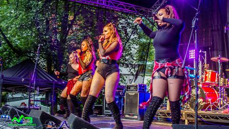 The Little Mix tribute act in Norwich. Picture: Mark Barley - Event Photography