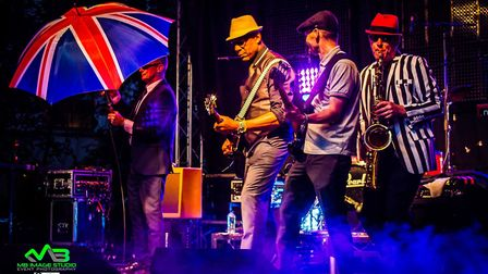 The Madness tribute act in Norwich. Picture: Mark Barley - Event Photography