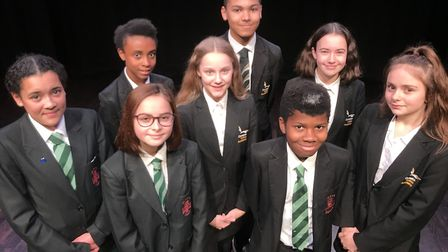 Youngsters from Ormiston Victory Academy in Costessey and Notre Dame school in Norwich will tread th