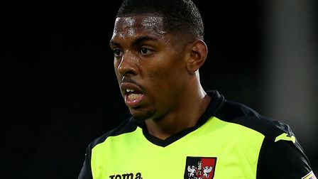 Norwich City striker Tristan Abrahams has made 18 appearances for Exeter in all competitions so far