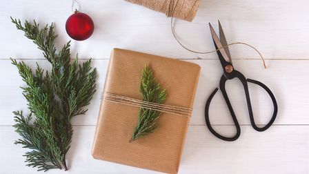 Swap shiny, foiled or glittery paper for a simpler style this year. Picture: Getty Images