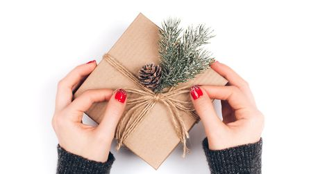 Opt for brown papers, twine and natural decorations this year to ensure your wrapping passes the scr
