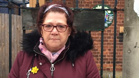 Marion Rooke, 66, has a granddaughter in reception at the primary school. Picture: Joe Norton