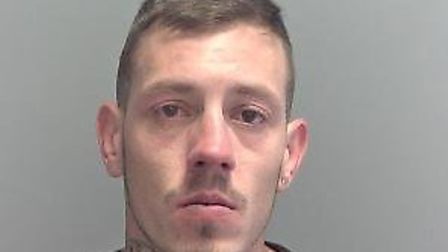 Lewis Copping, 24, was arrested in Gorleston on Friday morning. Picture: Norfolk Police