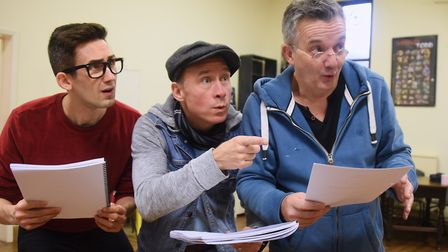 at a rehearsal of the Theatre Royal's panto Aladdin. Picture: DENISE BRADLEY