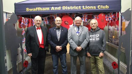 A variety show in Swaffham raised money for a charity supporting bereaved armed forces children. Pic