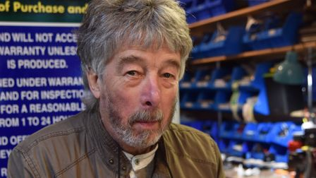 James Wade, deputy chair of the Magdalen Street Area and Anglia Square Traders Association. Pic: Son