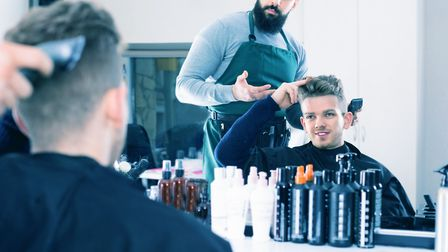 Men may be prepared to talk to their barber about how they're feeling. Picture Getty Images